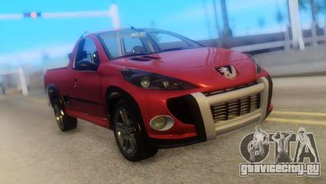 Peugeot 206 TowTruck для GTA San Andreas