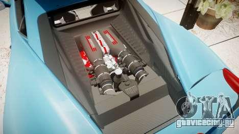 Ferrari 458 Speciale 2014 для GTA 4 вид сбоку