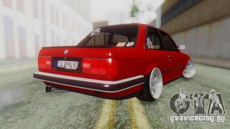 BMW M3 E30 B.O. Yapım для GTA San Andreas вид слева