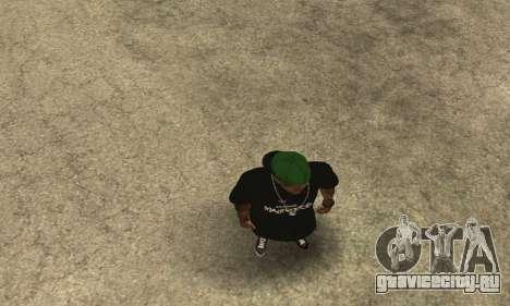 Groove St. Nigga Skin The Third для GTA San Andreas пятый скриншот