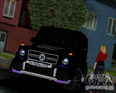 Brabus B65 Angry для GTA San Andreas вид сзади