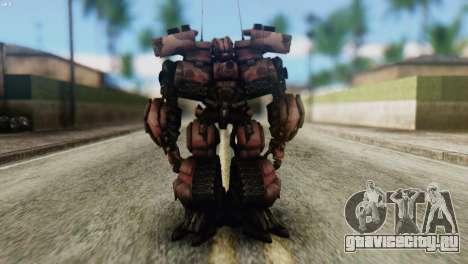 Watpath Skin from Transformers для GTA San Andreas второй скриншот