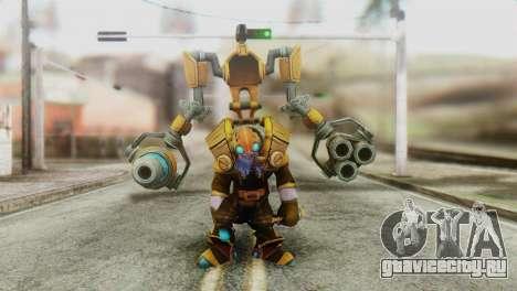 Tinker Skin from DoTA 2 для GTA San Andreas второй скриншот