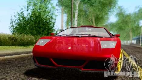 Pegassi Infernus Cento Miglia для GTA San Andreas