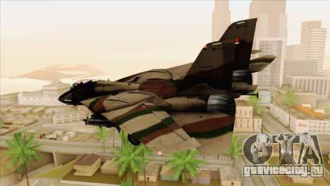 Grumman F-14A IRIAF для GTA San Andreas вид слева