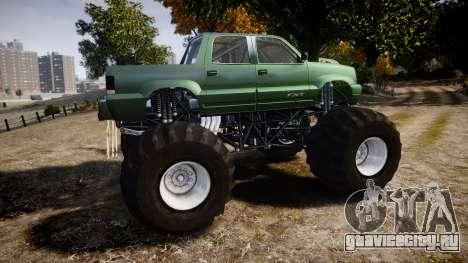 Albany Cavalcade FXT Monster Truck для GTA 4 вид слева