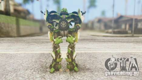 Ratchet Skin from Transformers v2 для GTA San Andreas третий скриншот