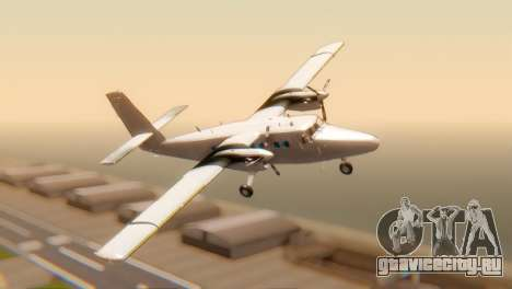 DHC-6-300 Twin Otter для GTA San Andreas