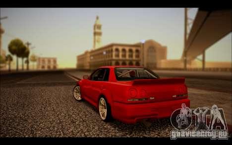 Nissan Skyline (ER34) 2015 для GTA San Andreas вид слева