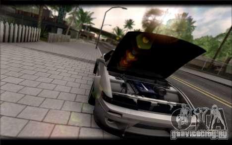Nissan Silvia S13 Rocket Bunny для GTA San Andreas вид сзади слева