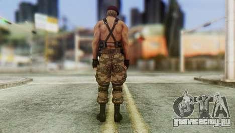 Jack Krauser Skin from Resident Evil для GTA San Andreas третий скриншот