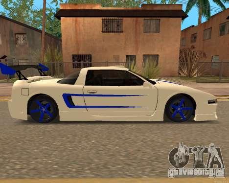 Инфернус Кожи для GTA San Andreas вид сзади слева