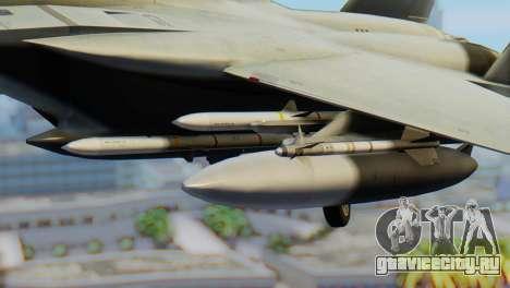 F-15C Eagle Luftwaffe JG 73 для GTA San Andreas вид справа