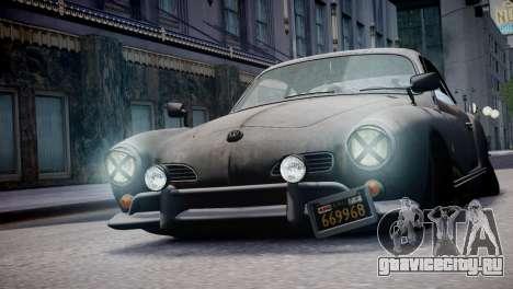 Volkswagen Karmann Ghia 67 (Slammed Rat) для GTA 4