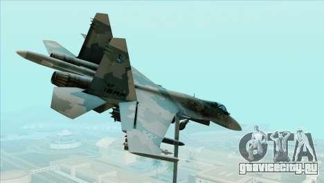 Sukhoi SU-35BM Mobius Squadron для GTA San Andreas вид слева
