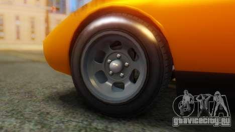 GTA 5 Pegassi Monroe для GTA San Andreas вид сзади слева