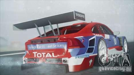 Volvo S60 Racing для GTA San Andreas вид слева