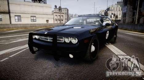 Dodge Challenger Marshal Police [ELS] для GTA 4