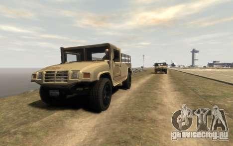 GTA 5 Millitary Patriot для GTA 4