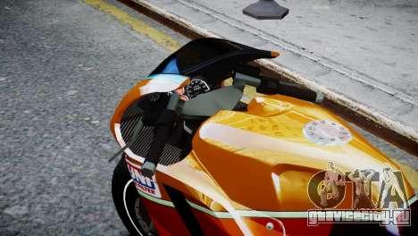 Bike Bati 2 HD Skin 1 для GTA 4 вид справа