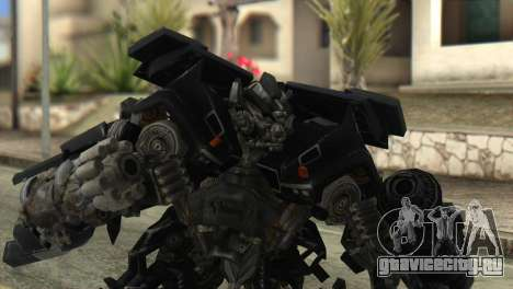 Ironhide Skin from Transformers v2 для GTA San Andreas