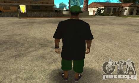 Groove St. Nigga Skin The Third для GTA San Andreas третий скриншот