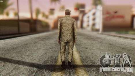 Военнослужащий Вооруженных Сил Украины для GTA San Andreas третий скриншот