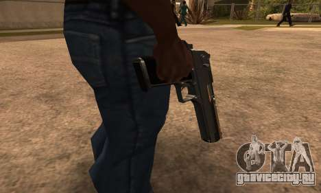 Deagle White and Black для GTA San Andreas второй скриншот