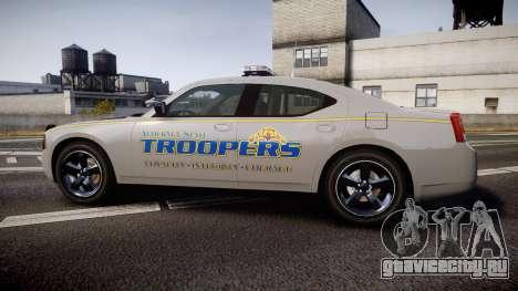Dodge Charger Alaska State Trooper [ELS] для GTA 4 вид слева