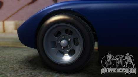 GTA 5 Pegassi Monroe IVF для GTA San Andreas вид сзади слева