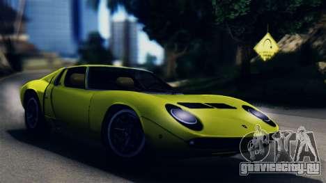 Lamborghini Miura P400 1967 для GTA San Andreas