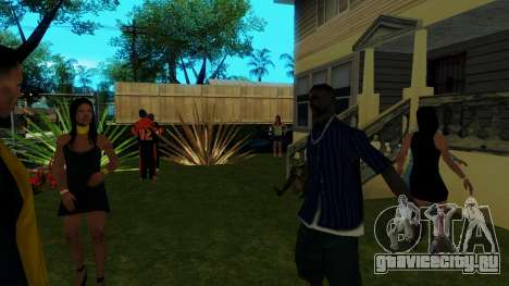 Вечеринка в Джефферсоне для GTA San Andreas четвёртый скриншот