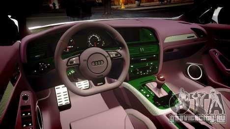 Audi S4 Avant Belgian Police [ELS] для GTA 4 вид сбоку