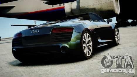 Audi R8 Spyder 2014 [EPM] для GTA 4 вид слева