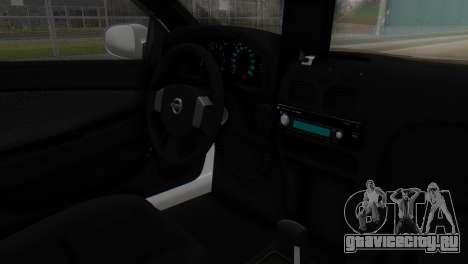 Nissan Almera Iraqi Police для GTA San Andreas вид справа