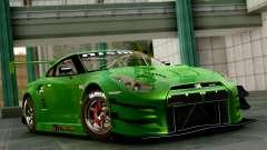 Nissan GT-R (R35) GT3 2012 PJ1 для GTA San Andreas