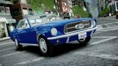 Ford Mustang 1967 для GTA 4