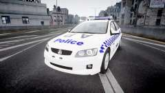 Holden Commodore Omega NSWPF [ELS] для GTA 4