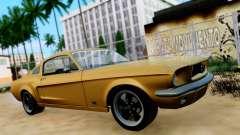Shelby Mustang GT 1967 для GTA San Andreas