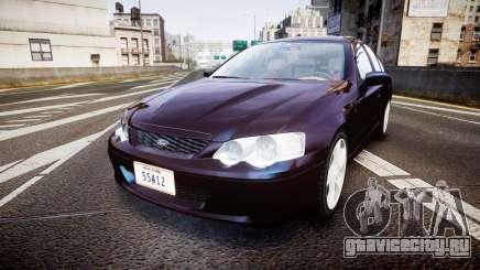 Ford Falcon XR8 2004 Unmarked Police [ELS] для GTA 4