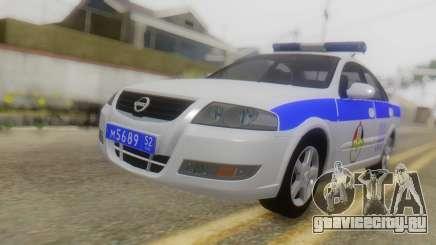 Nissan Almera Iraqi Police для GTA San Andreas