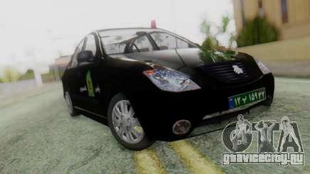 SAIPA Tiba Police v1 для GTA San Andreas