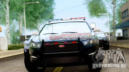GTA 5 Vapid Police Interceptor v2 IVF для GTA San Andreas