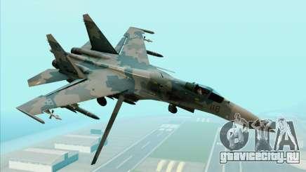 Sukhoi SU-35BM Mobius Squadron для GTA San Andreas
