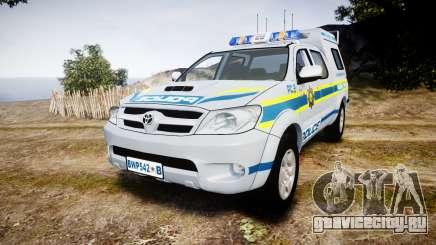 Toyota Hilux 2010 South African Police [ELS] для GTA 4