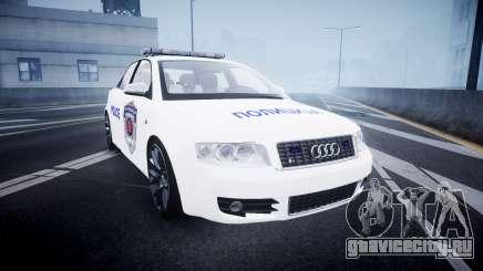 Audi S4 Serbian Police [ELS] для GTA 4