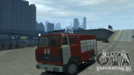 МАЗ 533702 Пожарный г. Липецк для GTA 4