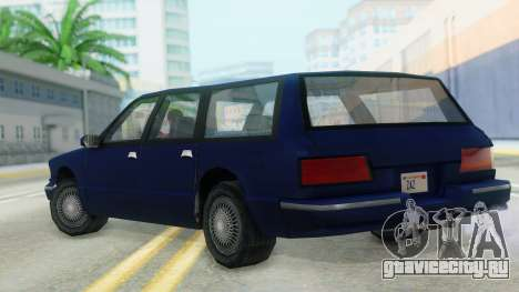 Premier Station Wagon для GTA San Andreas вид слева
