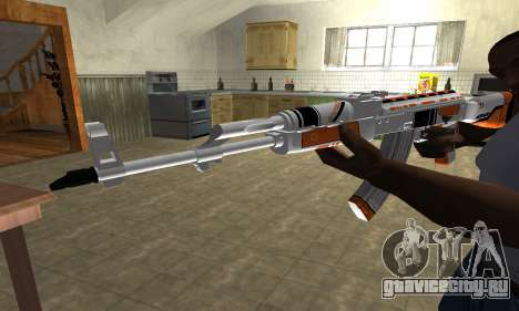 AK-47 Asiimov для GTA San Andreas второй скриншот