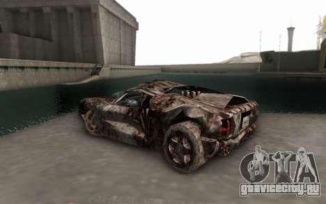 Bullshit для GTA San Andreas вид слева